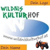 Namentliche Nennung für Förderer der WildnisKultur-