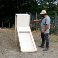 Wir bauen eine Solartrockungsanlage-